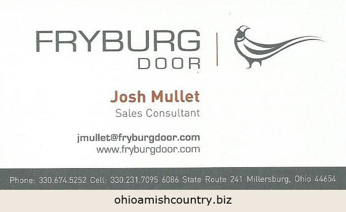 Doors Ohio Amish Country Biz