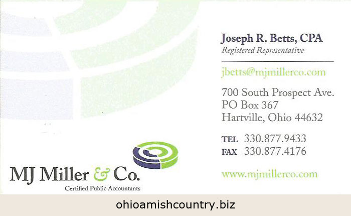Mj Miller Amp Co Ohio Amish Country Biz