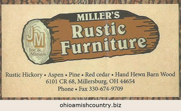 Milleru0027s Rustic Furniture