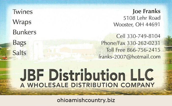 Jbf Distribution Llc Ohio Amish Country Biz